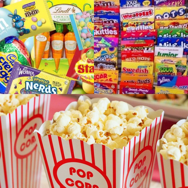 Easter Movie Snacks